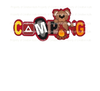 Camping Title (Bear)