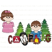 Camping Title (Children)