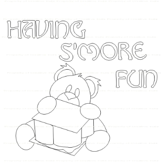 Having S'More Fun Digi Stamp