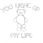 You Light Up My Life Digi Stamp