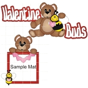 Valentine Buds Bear-Bee