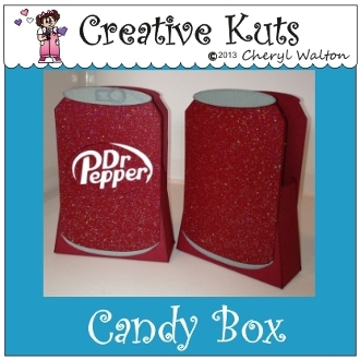 Dr. Pepper Candy Box