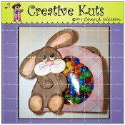 Door Hanger Bunny Candy Bag