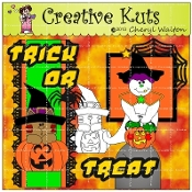 Trick or Treat Scrapbook Package