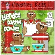 Blended With Love Scrapbook Package