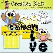 Owlways With Love Scrapbook Package