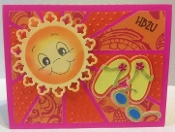Corner Sunrise Card