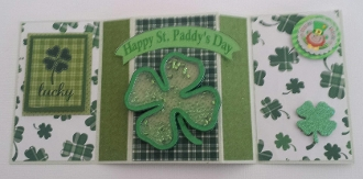 Happy St. Paddy's Day Shaker Carf