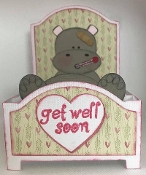 Hippo Get Well Card
