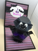 Bat Pop Up Card
