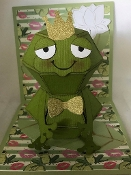 Frog Pop Up Card